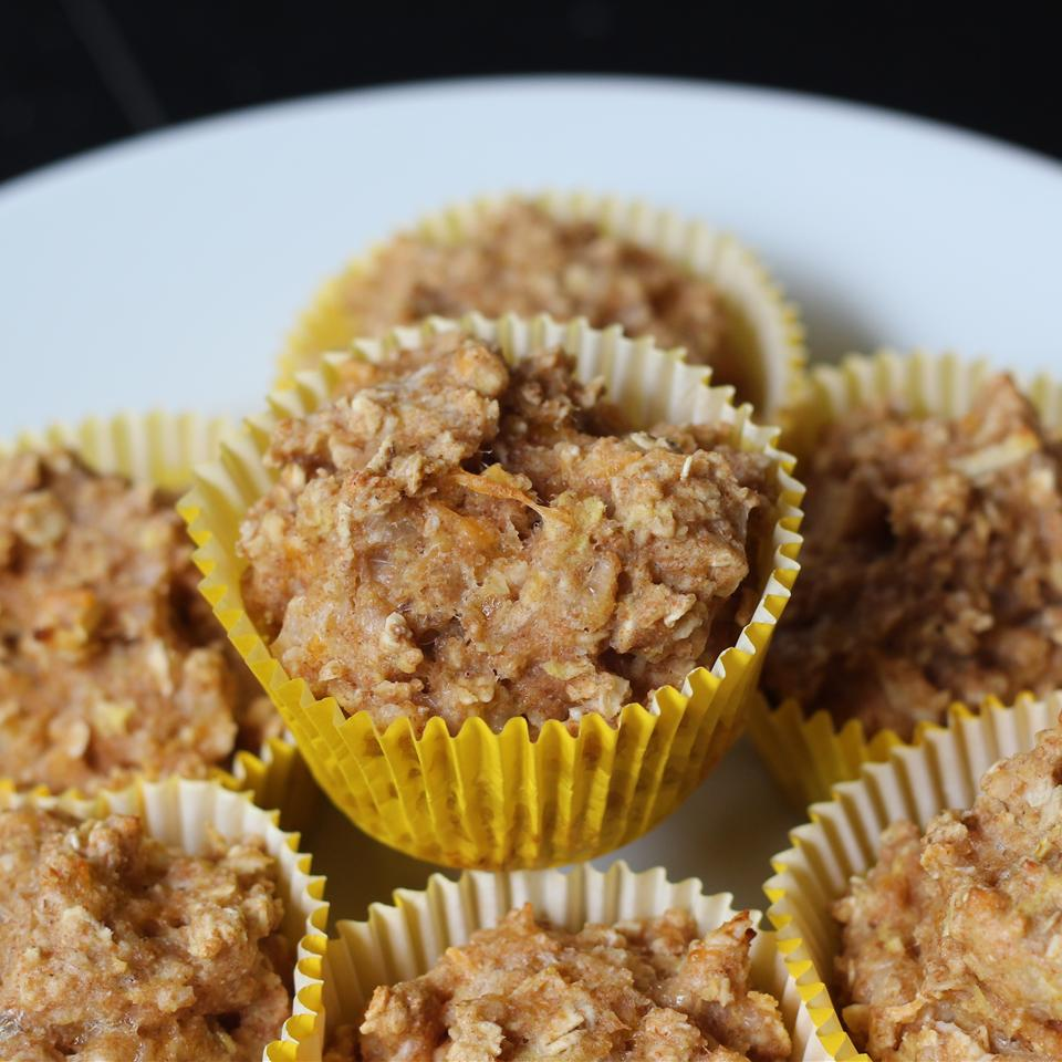 """These cupcake treats are perfect for dogs with food allergies. """"Warning: they don't look pretty, but Fido will love them!"""" says Mrs. K. """"They freeze well, and you can zap them in the microwave for a nice, occasional dog snack."""""""