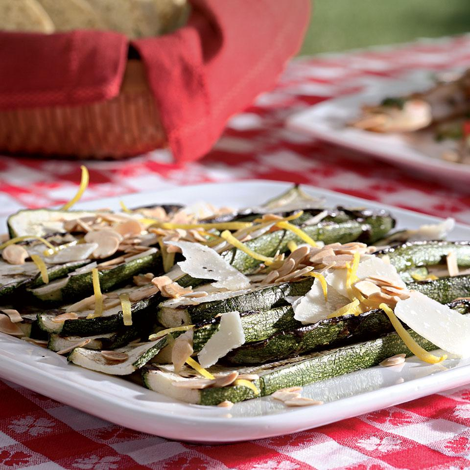 Zucchini Salad with Shaved Parmesan EatingWell Test Kitchen