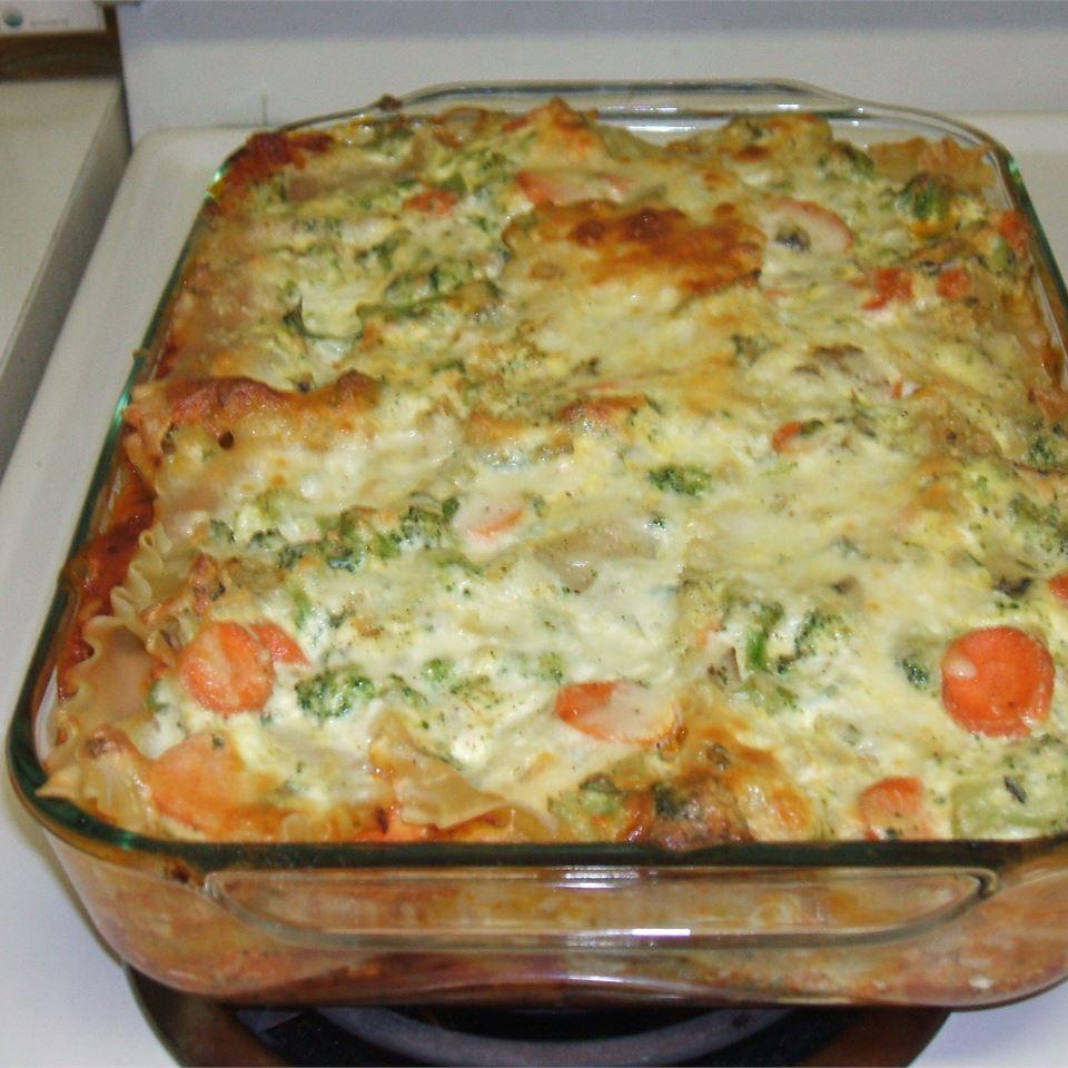 Convenient Vegetarian Lasagna Valerie PenguinFan