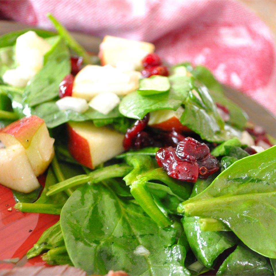 Spinach Apple Salad Alberta Rose