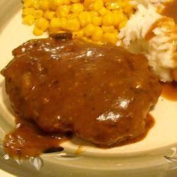 Mushroom-Smothered Beef Burgers ~TxCin~ILove2Ck