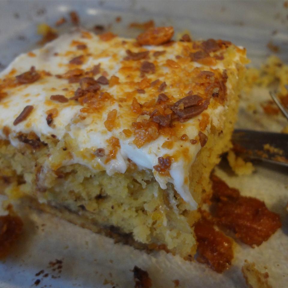Butterfinger Banana Cake Chef Mo