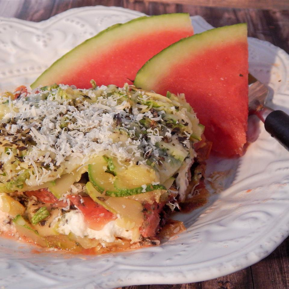 Reinvented Zucchini Gratin Linda T