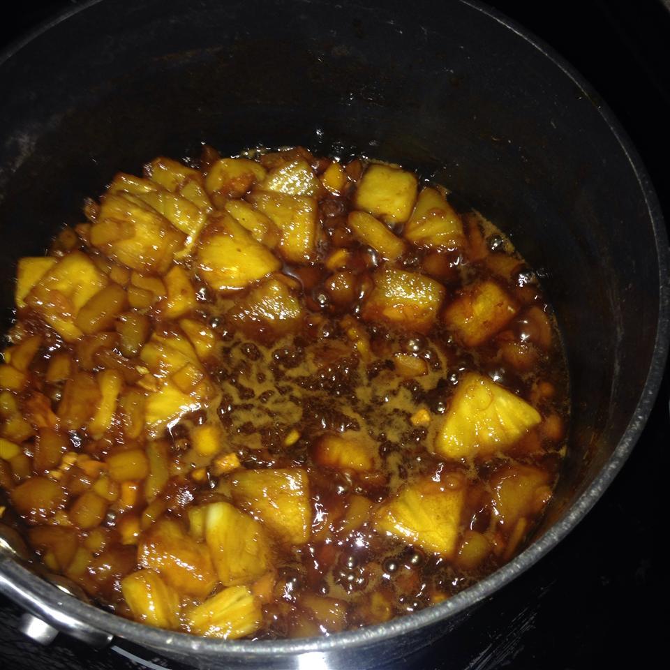 Peach-Mango-Habanero Wing Sauce Traci Guynup