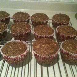 Muesli-Applesauce Muffins Marcela