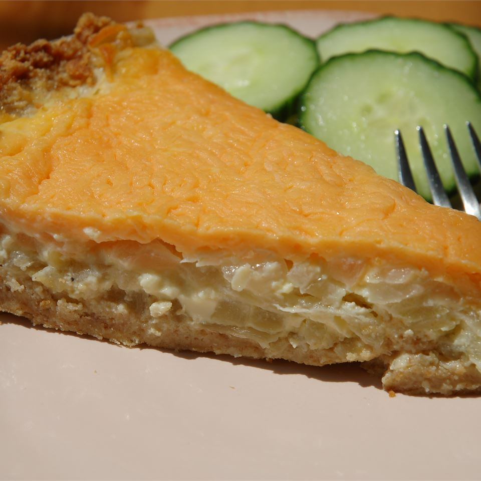 Sweet Vidalia Onion Pie