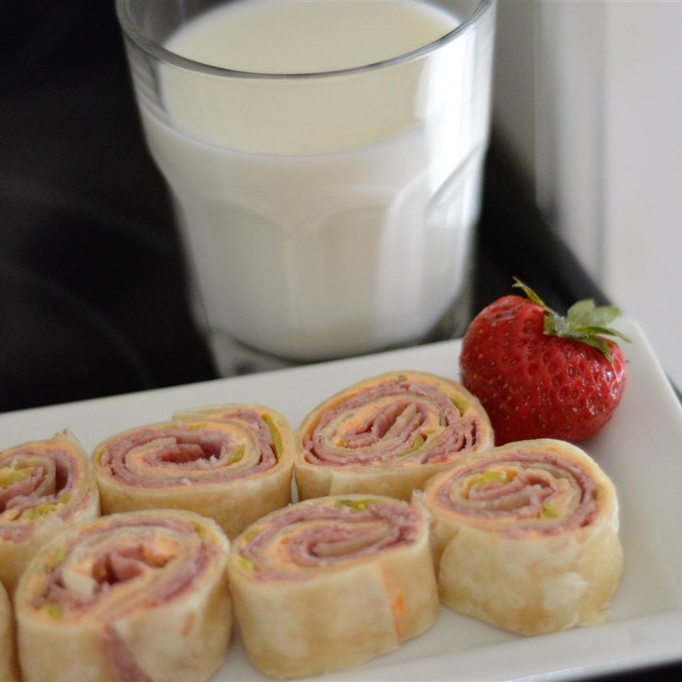 After School Antipasto Pinwheel Sandwiches