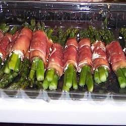 asparagus wrapped in crisp prosciutto recipe