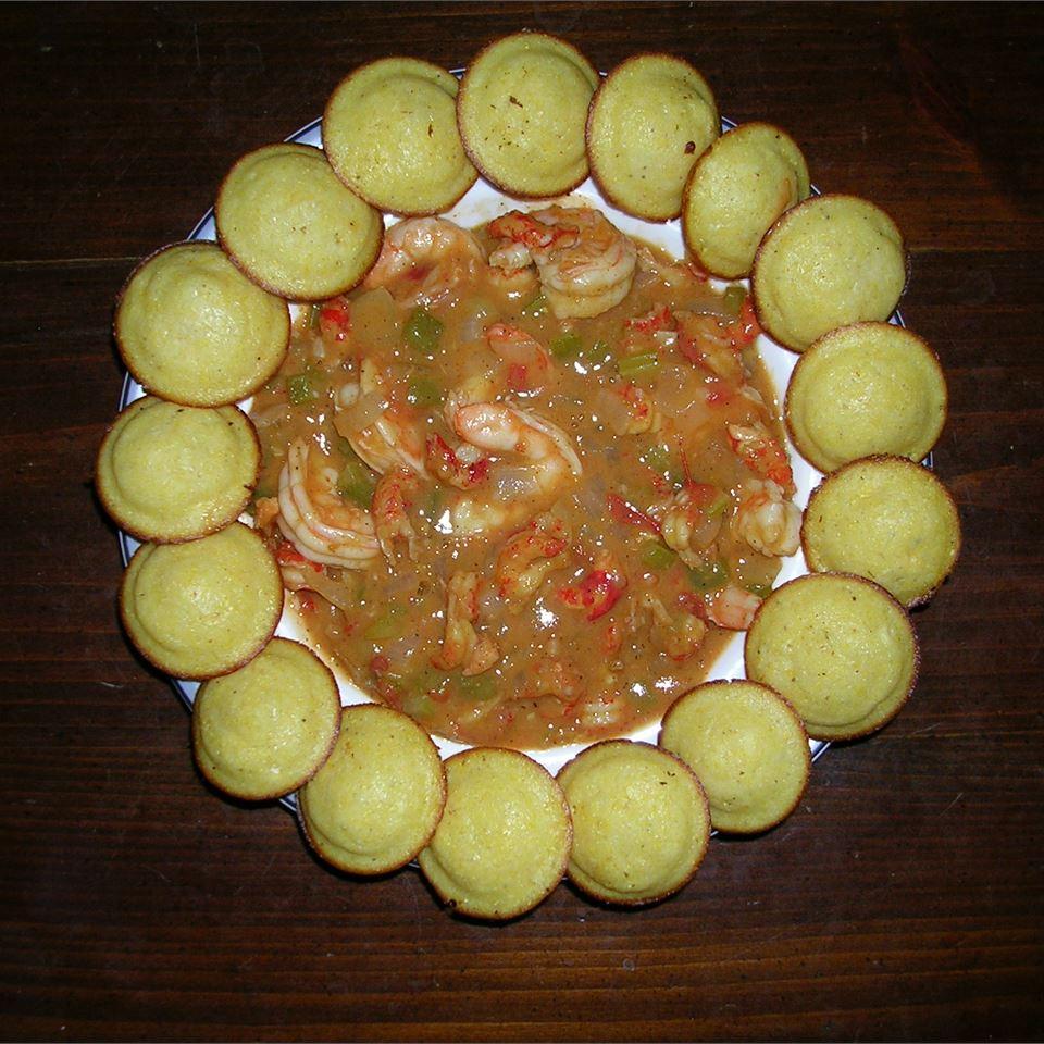 Cajun Crawfish and Shrimp Etouffe Sapphire