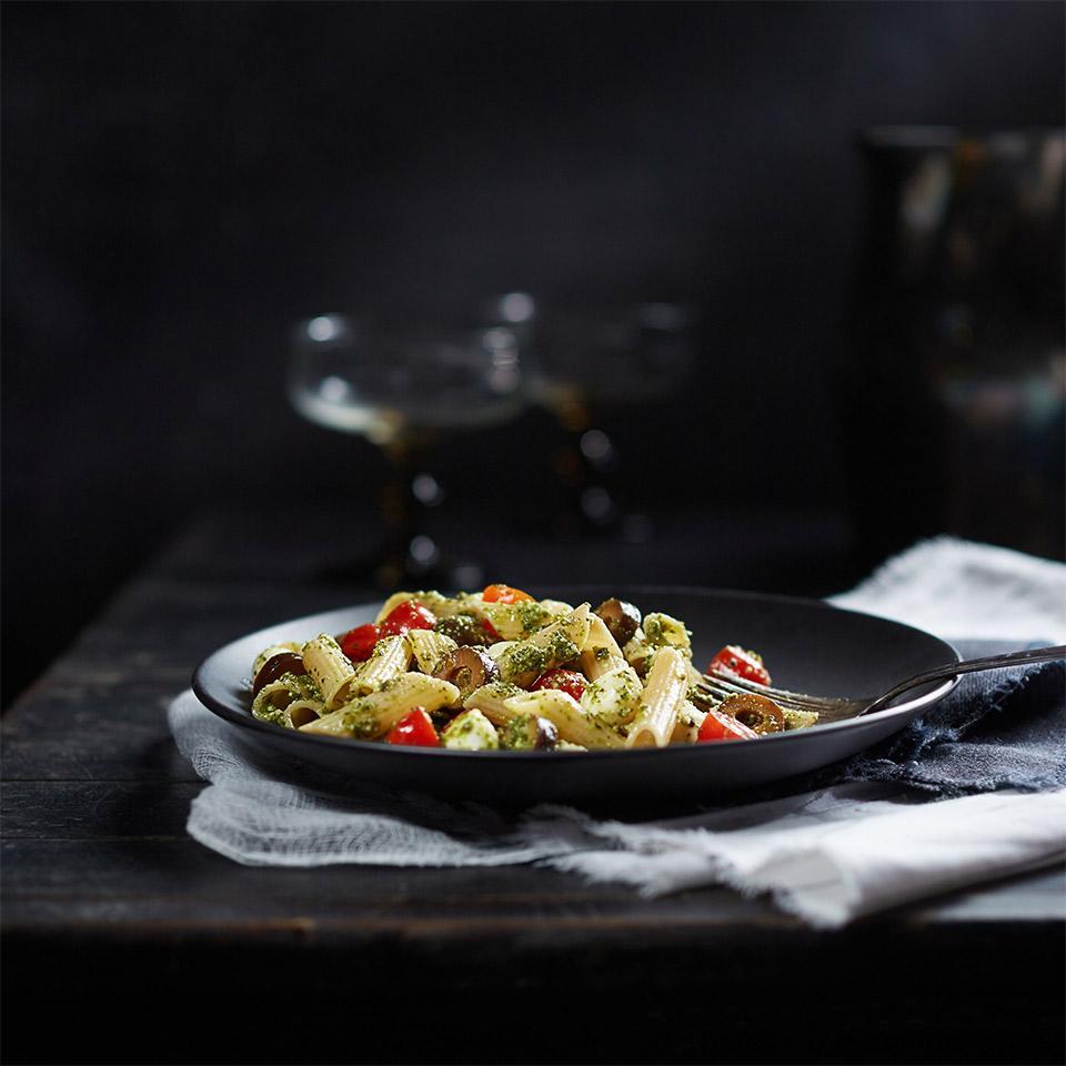 Penne Pesto Pasta Salad