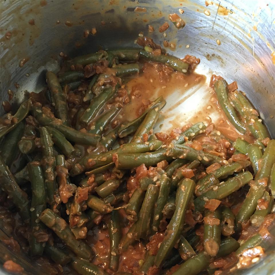 Fresh Green Beans with Heaven Sauce Tara Owen