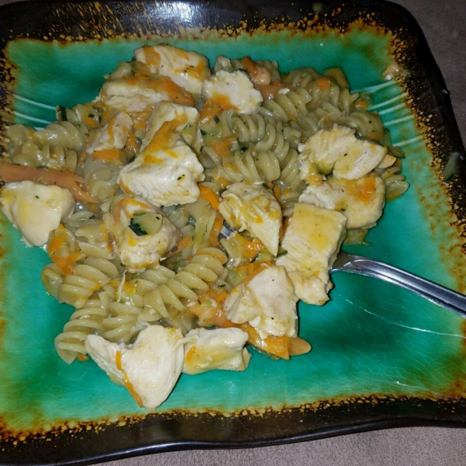 2-Step Creamy Chicken and Pasta Katie Ryan