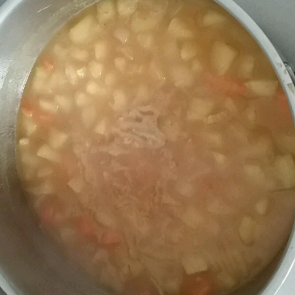 Curried Sweet Potato Soup Ms Sally Marie   MG