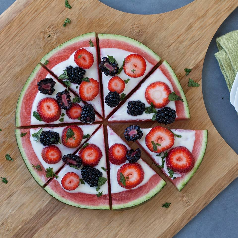 Watermelon Fruit Pizza EatingWell Test Kitchen