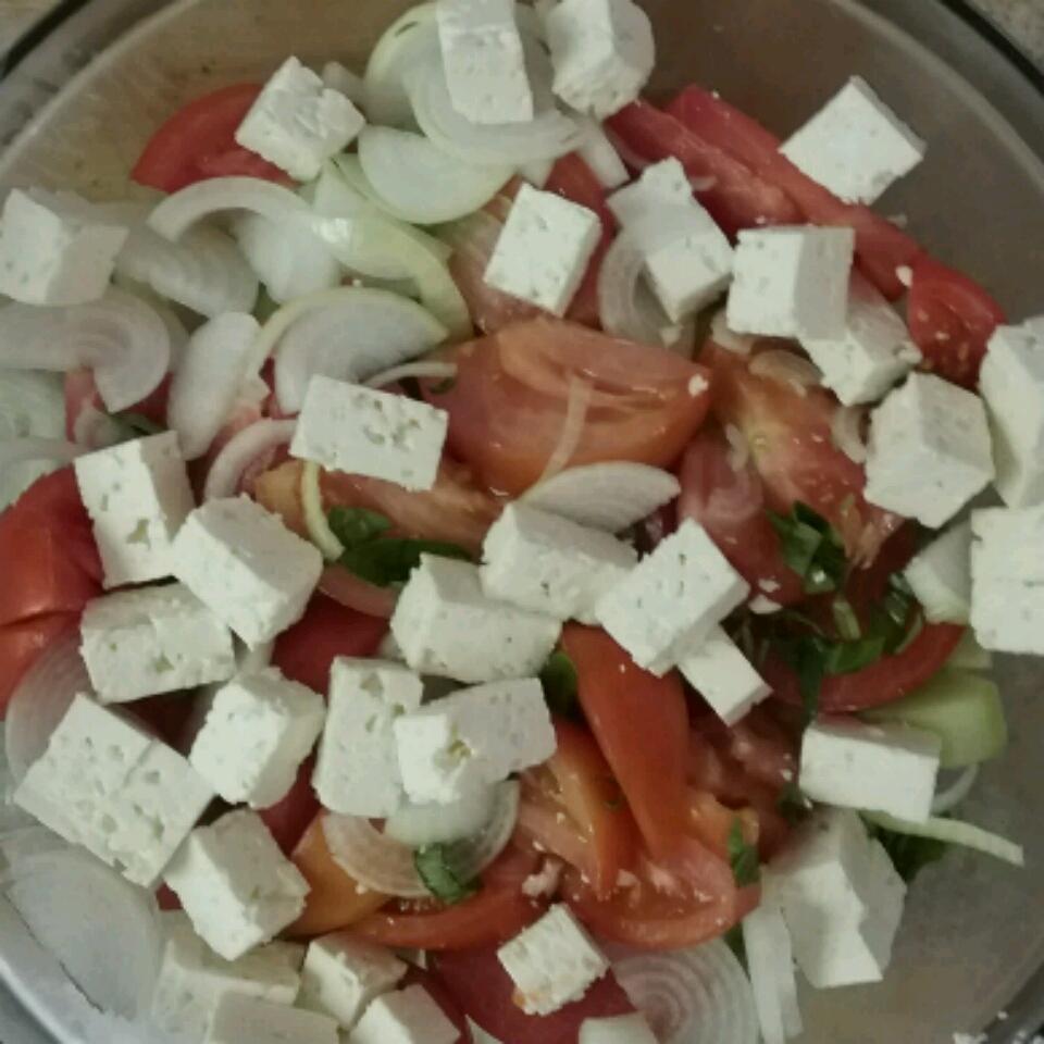 Greek Tomato Salad Julye Armstrong