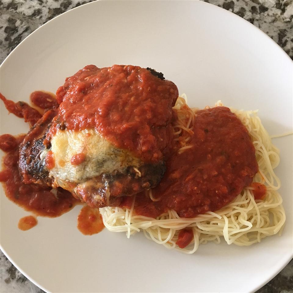 Tomato Chicken Parmesan