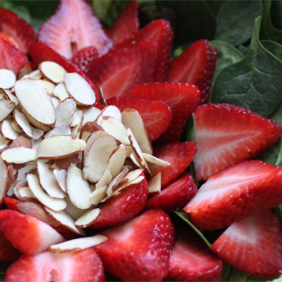 Almond Strawberry Salad CooknKel