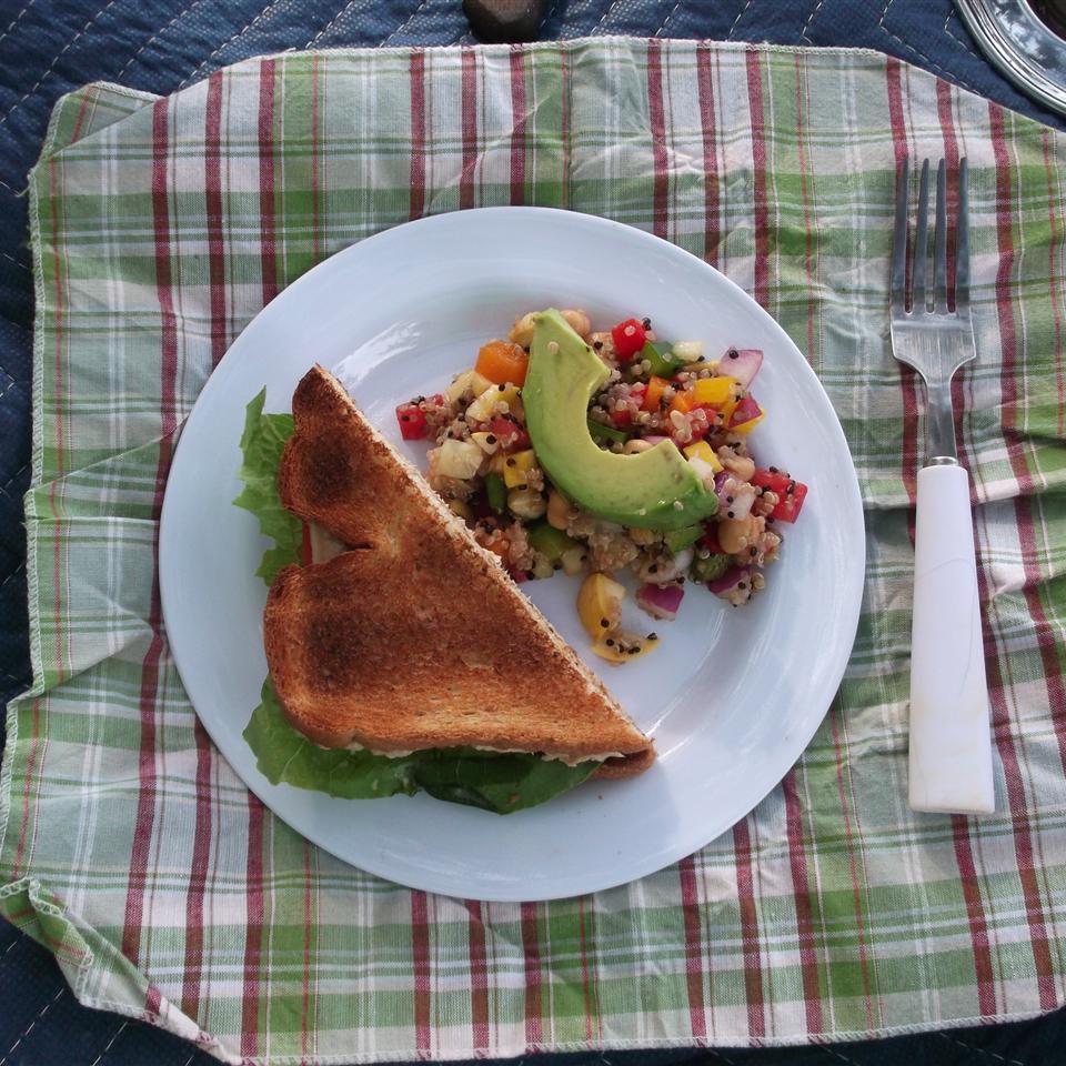 Spicy Salmon Salad Sandwiches Kirk Reid