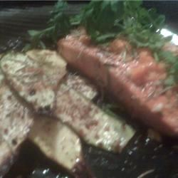 Grilled Salmon with Habanero-Lime Butter DevinDee