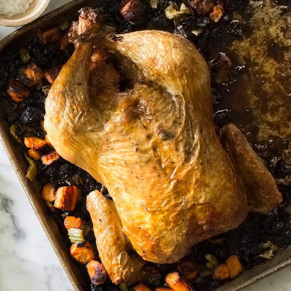 Roasted Chickens David Bonom