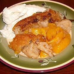 busy mom peach cobbler recipe