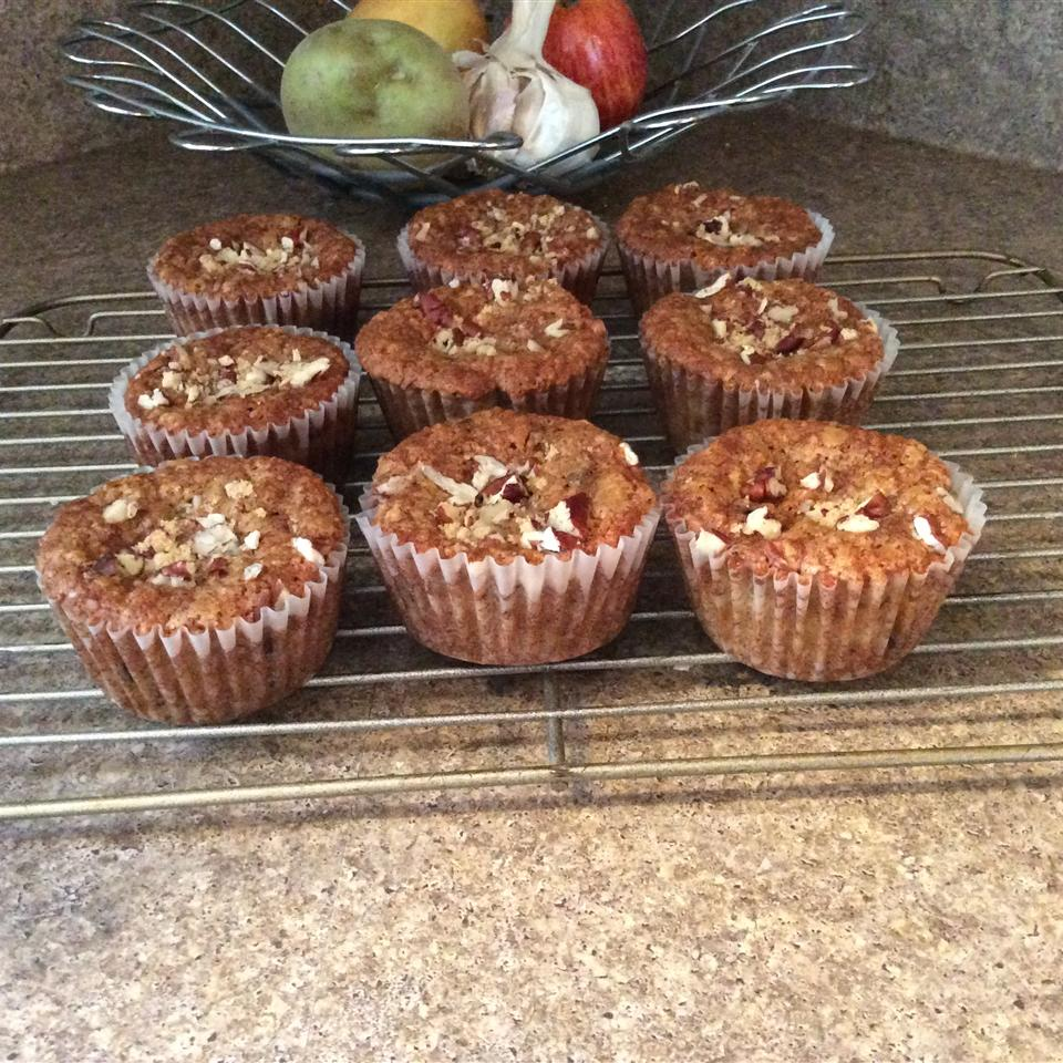 Banana Oat Muffins with Sour Cream swoodman