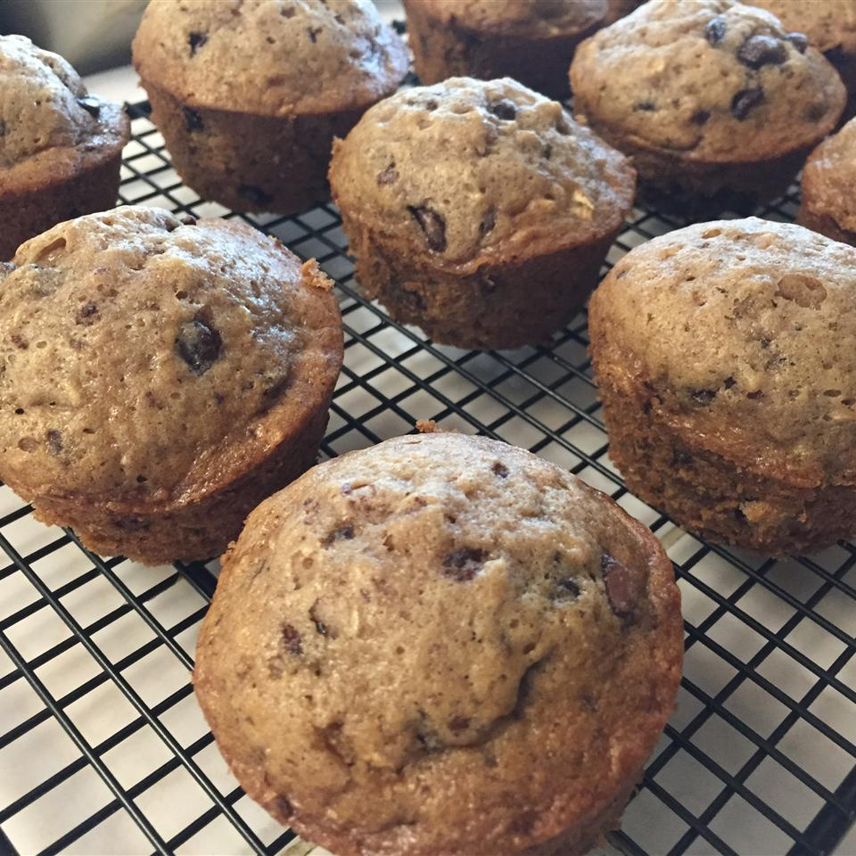 Zucchini-Chocolate Chip Muffins