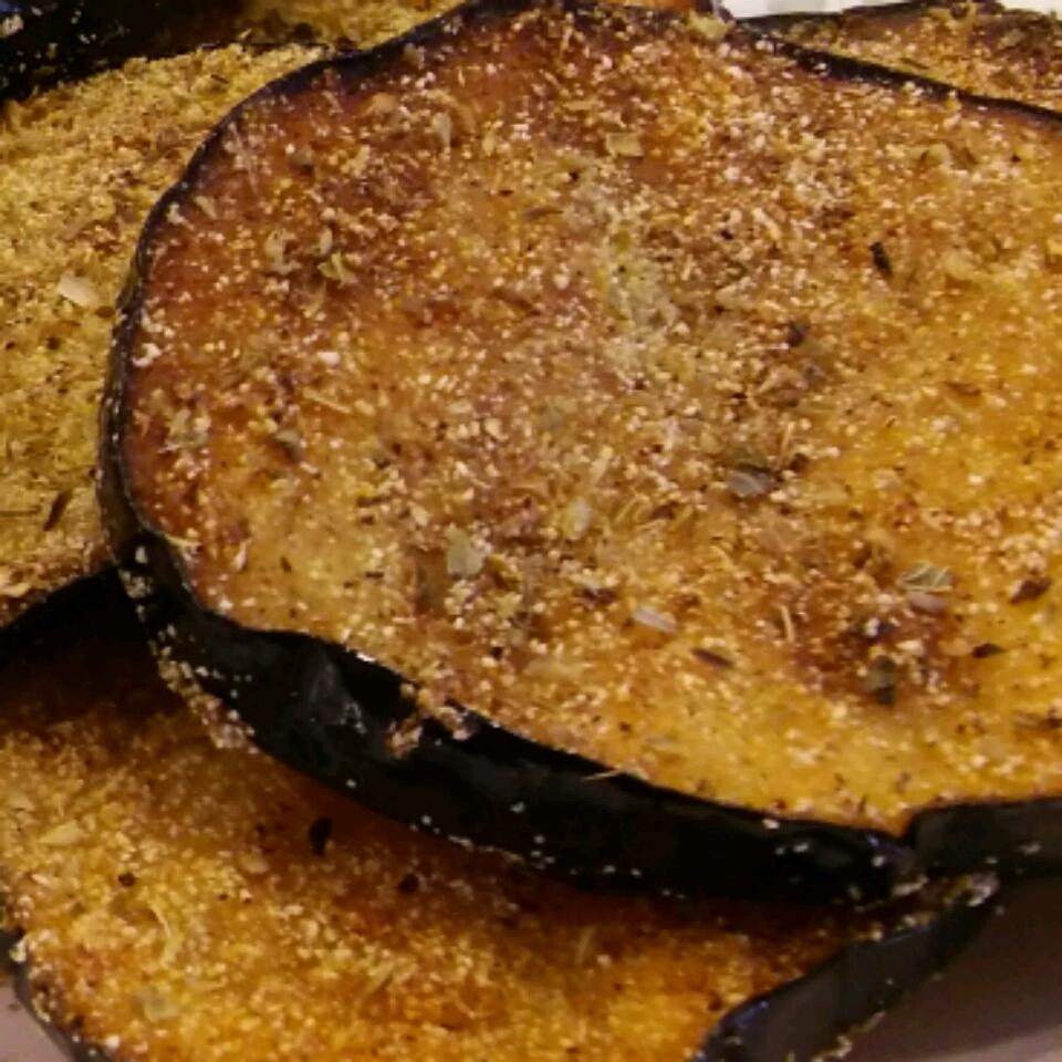 Eggplant Rounds Basia Anderson