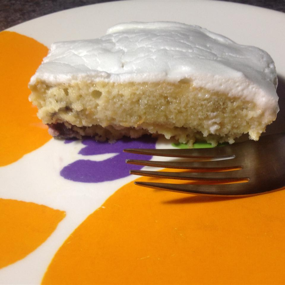 Almond Cherry Tres Leches Cake jessaca