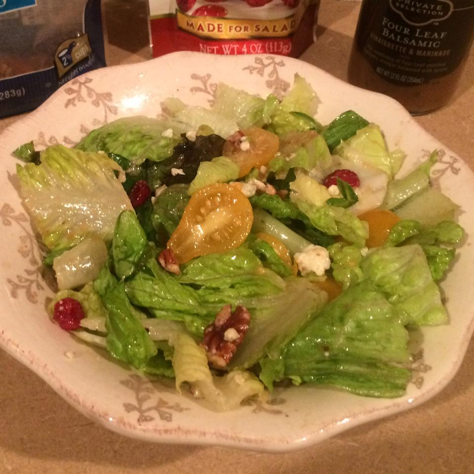 Blue Cheese and Dried Cranberry Tossed Salad Kamilah Gill