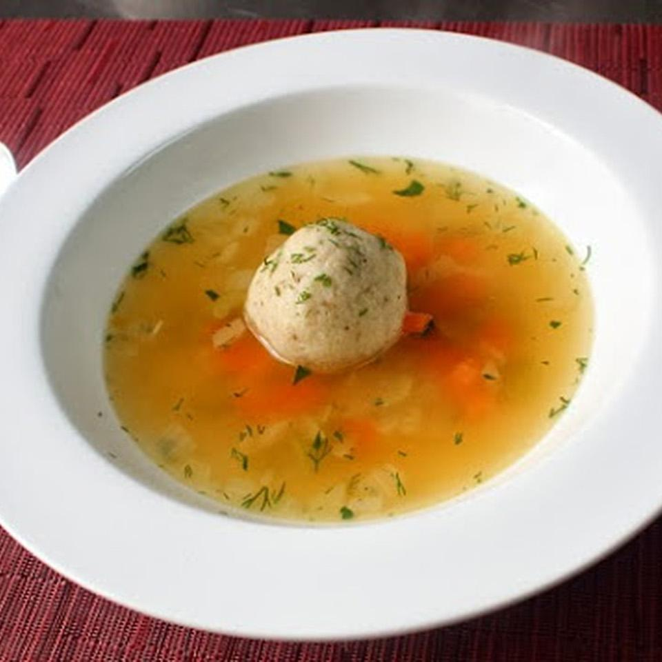 Turkey Matzo Ball Soup