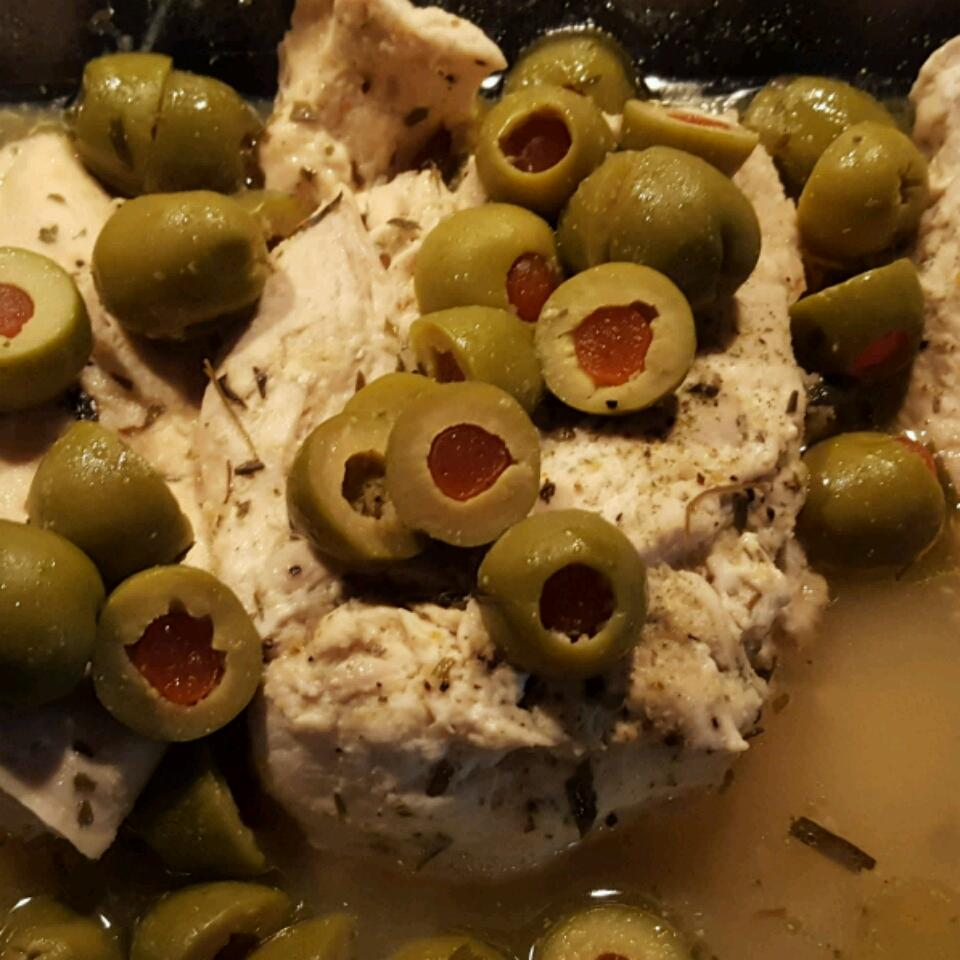Chicken Breasts with Olives April