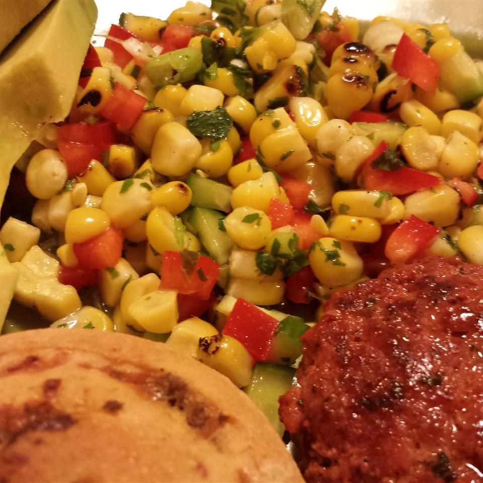 Chef Scott's Smoked Corn Relish Salad Casablancaise