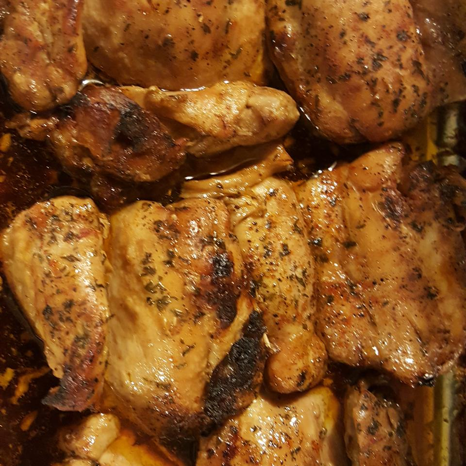 Baked Asian-Style Honey Chicken greenday