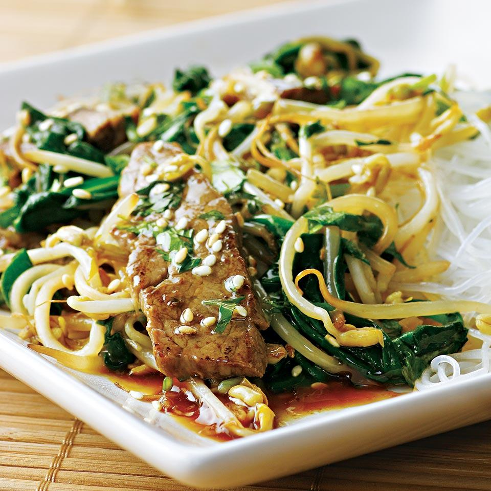 Korean Beef Stir-Fry EatingWell Test Kitchen