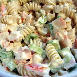 Seafood Pasta Salad MBKRH