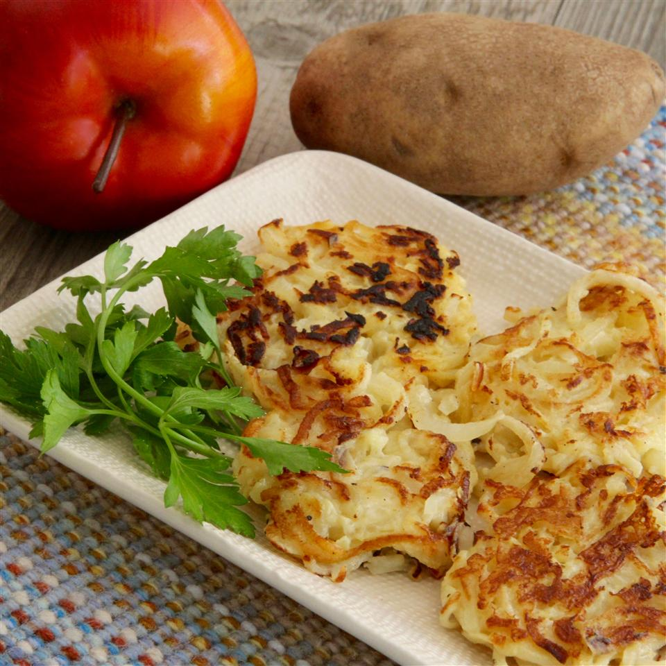 Apple-Potato Latkes