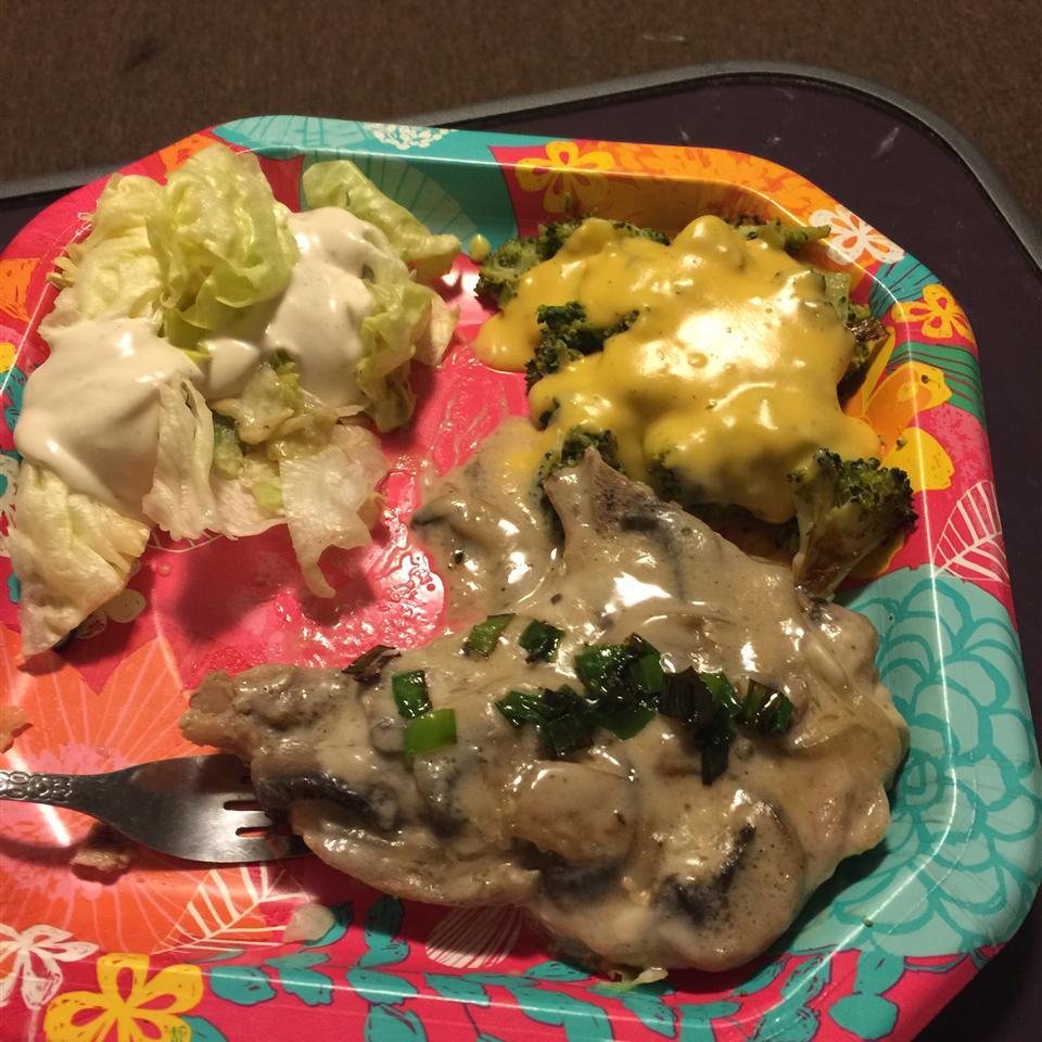 Mushroom Pork Chops SweetiePie KayKay Denise