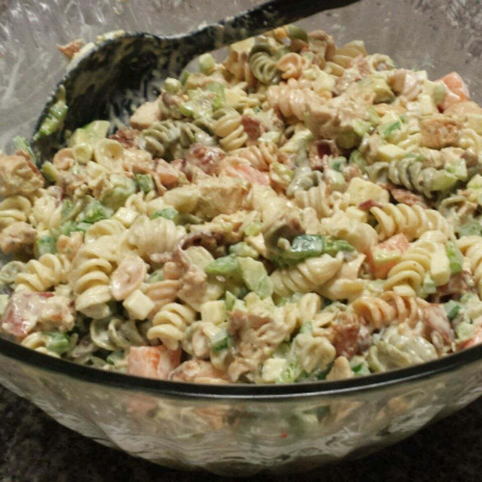 Chicken Club Pasta Salad Jessica