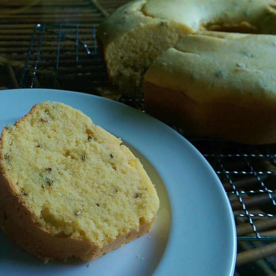 Sweet Cornmeal Cake Brazilian-Style Irene