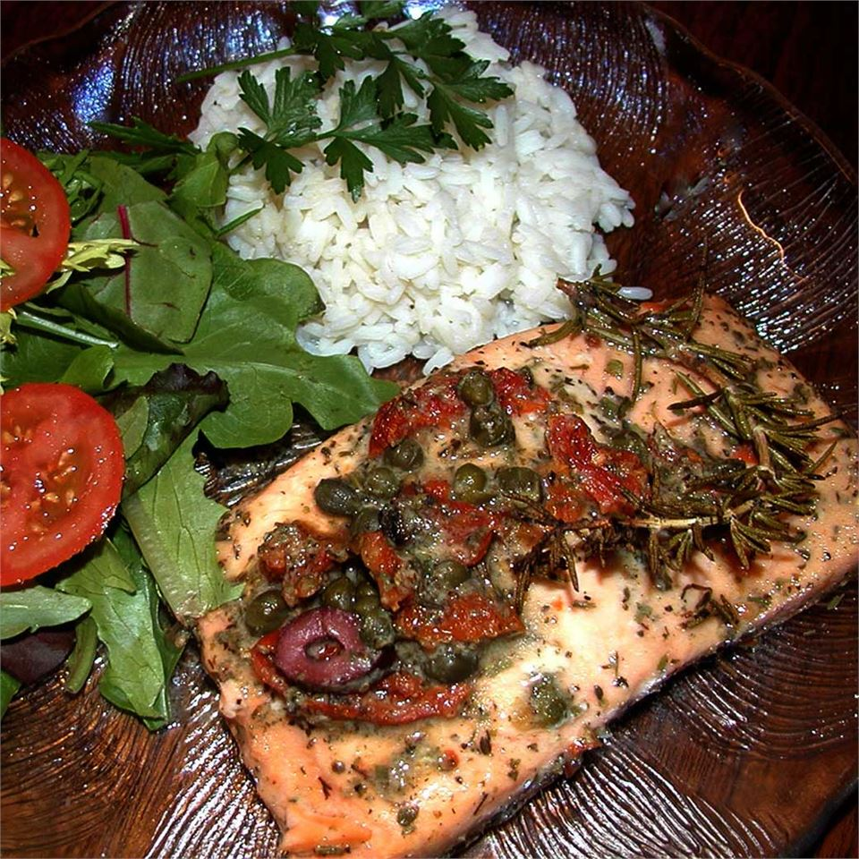 Salmon with Dijon Vinaigrette DAGNYH