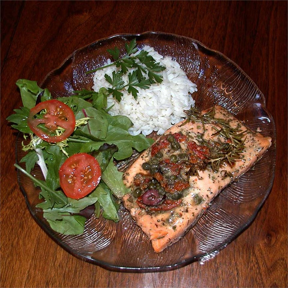 Salmon with Dijon Vinaigrette Alexy11
