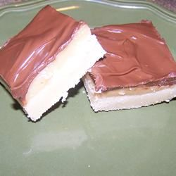 Caramel Shortbread Squares love2cook