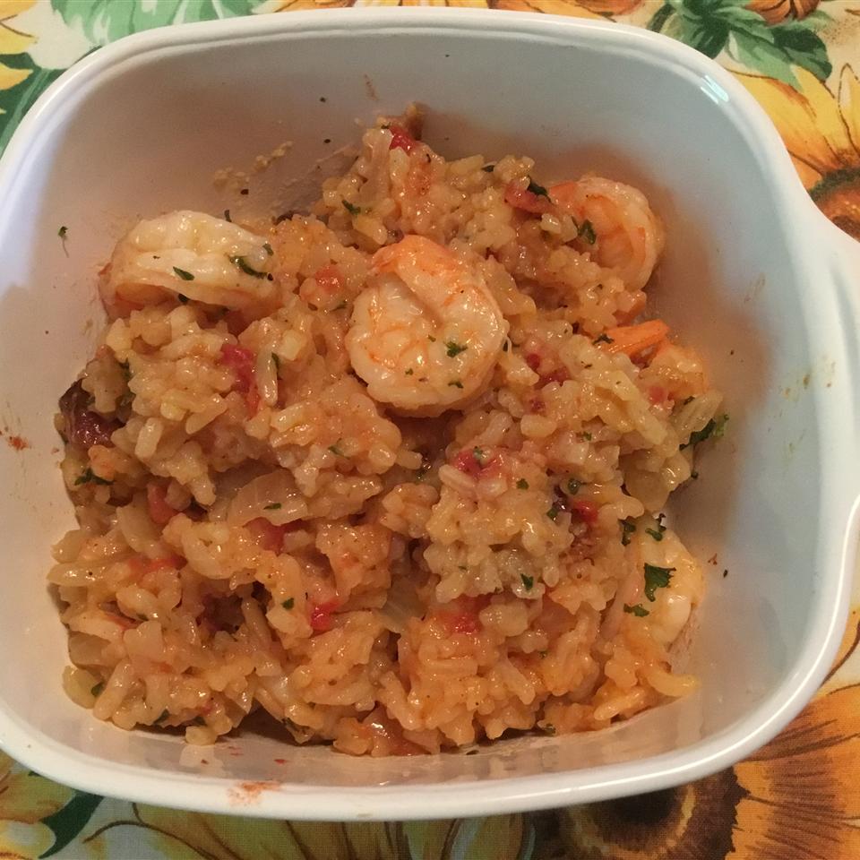 Island Shrimp and Rice sharon