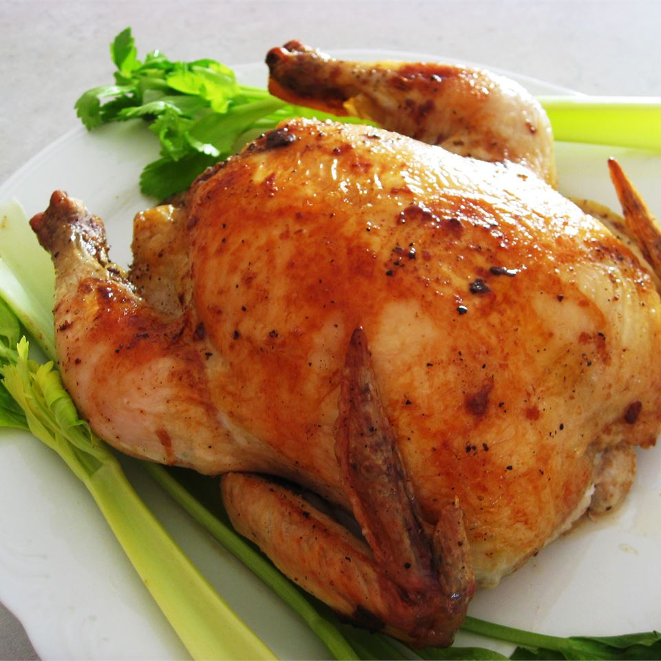 Juicy Roasted Chicken Recipe Allrecipes