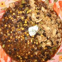 Beezie's Black Bean Soup Mrs Sutterpants