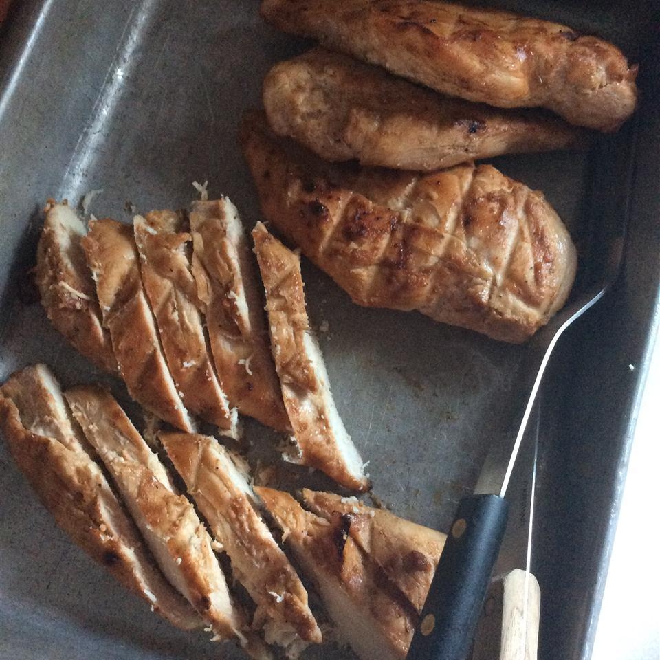 Rusty Chicken Thighs Elizabeth Bohr