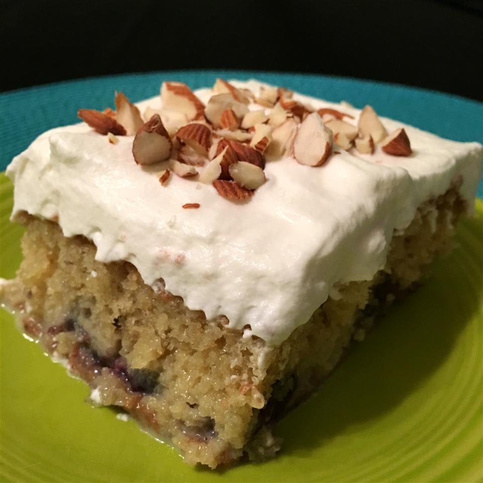Almond Cherry Tres Leches Cake Happyschmoopies