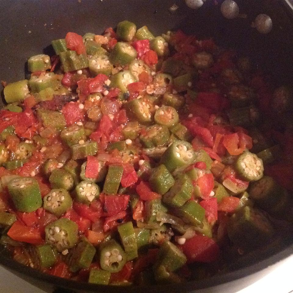 Okra with Tomatoes