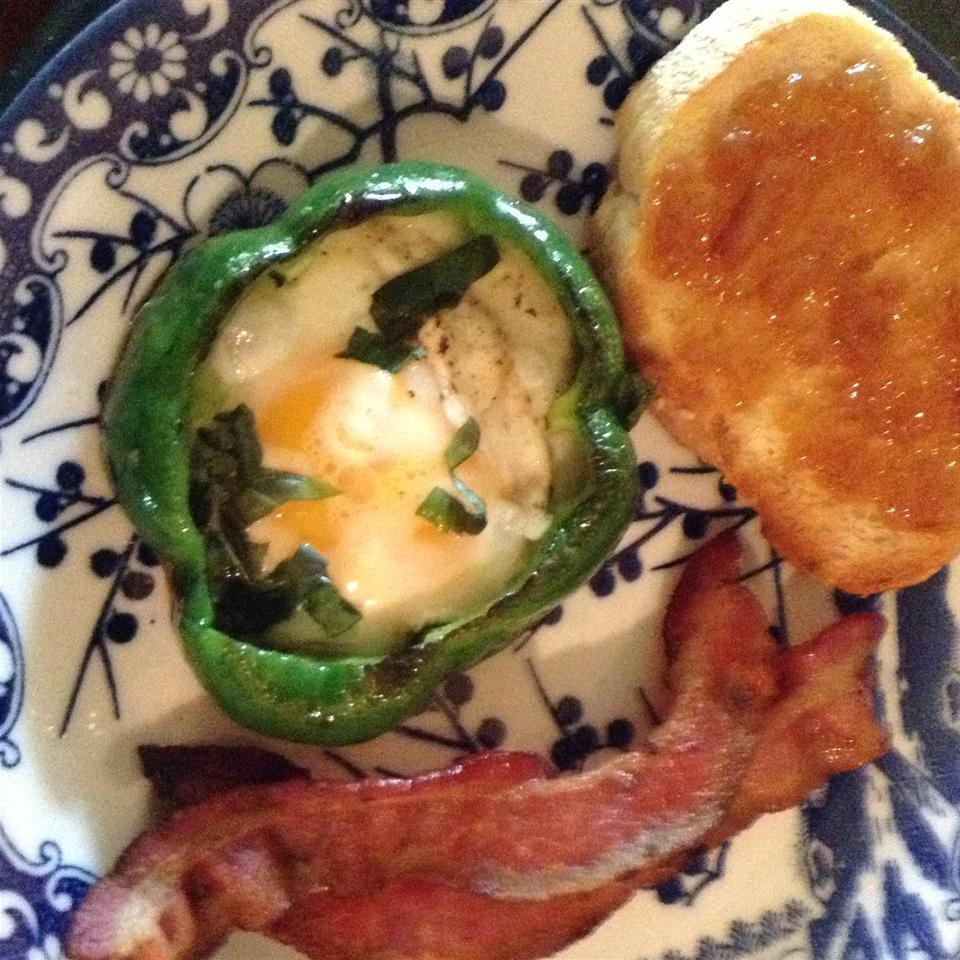 Egg in a Pepper peg